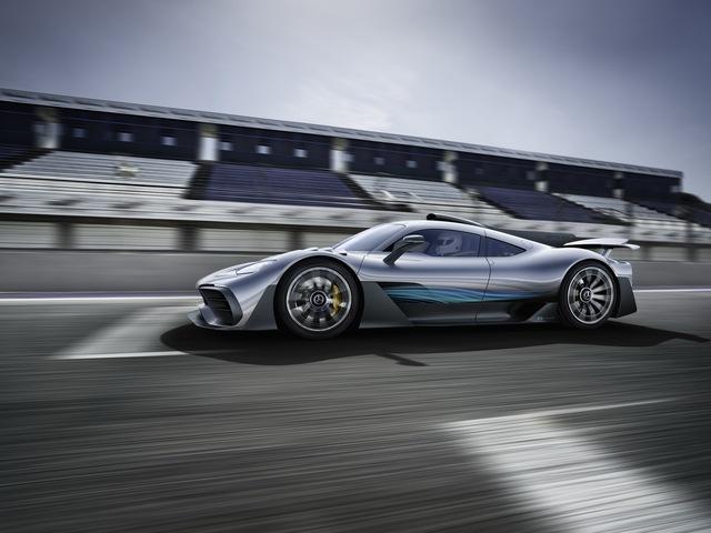Mercedes-AMG Project One có thể cho Bugatti Chiron ngửi khói - Ảnh 3.
