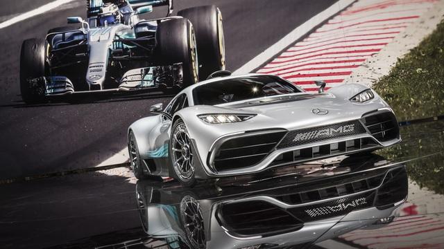 """Vẻ đẹp xuất sắc của """"xe đua Công thức 1 đường phố"""" Mercedes-AMG Project One ngoài đời thực"""