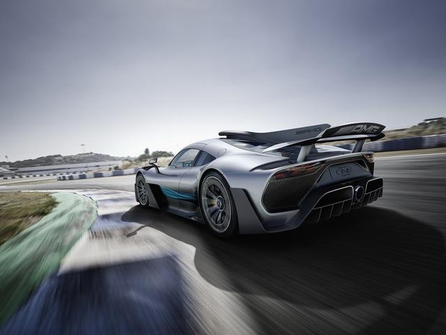 Mercedes-AMG Project One có thể cho Bugatti Chiron ngửi khói - Ảnh 6.