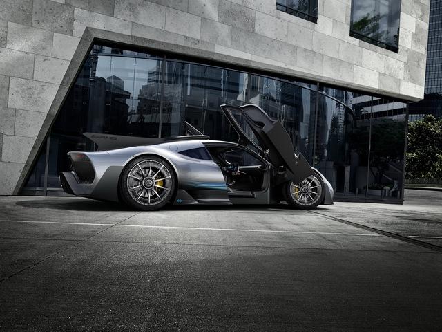 Mercedes-AMG Project One có thể cho Bugatti Chiron ngửi khói - Ảnh 9.