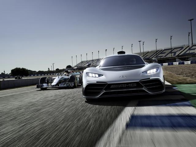 Mercedes-AMG Project One có thể cho Bugatti Chiron ngửi khói - Ảnh 8.
