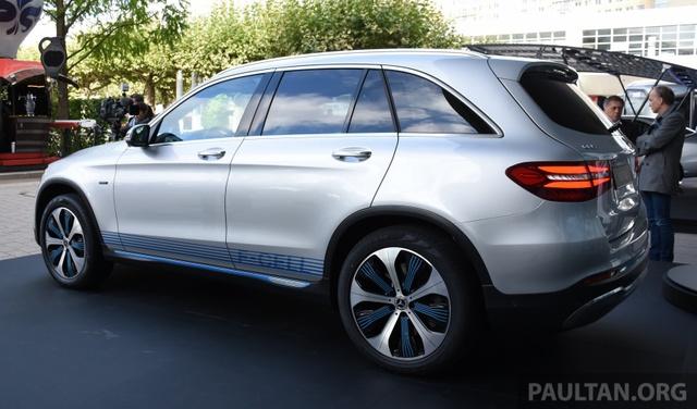 Xe không cần xăng Mercedes-Benz GLC F-Cell trình làng - Ảnh 3.
