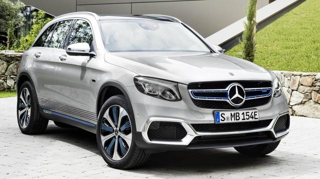 Xe không cần xăng Mercedes-Benz GLC F-Cell trình làng