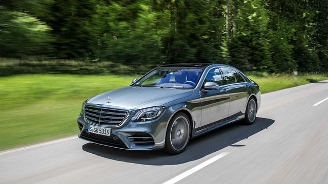 Mercedes-Benz S-Class 2018 có giá khởi điểm thấp hơn phiên bản cũ