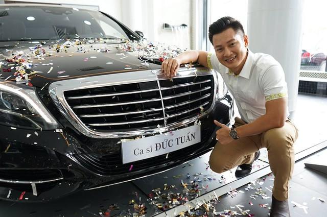 Ca sĩ Đức Tuấn tậu Mercedes-Benz S400L đời mới trị giá 4 tỷ Đồng - Ảnh 1.