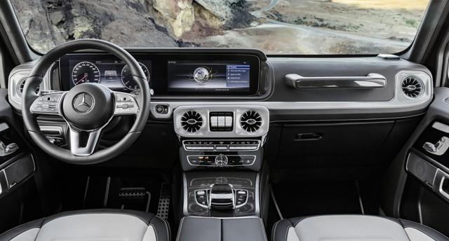 Mercedes-Benz G-Class 2019 lần đầu khoe ảnh nội thất: Di sản hòa cùng công nghệ - Ảnh 1.