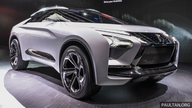 SUV công nghệ cao Mitsubishi e-Evolution Concept được vén màn