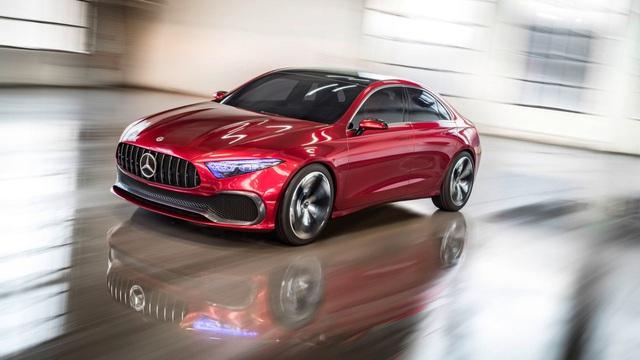 """Xem trước thiết kế của xe sang giá """"mềm"""" Mercedes-Benz A-Class Sedan"""