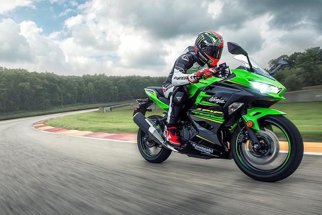 Kawasaki Ninja 400 ra mắt với thiết kế ảnh hưởng từ Ninja H2 - Ảnh 1.