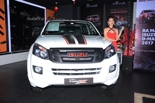 Isuzu D-Max Type Z 2017 ra mắt khách hàng Việt, giá từ 760 triệu Đồng - Ảnh 5.