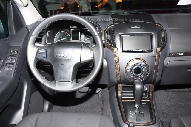 Isuzu D-Max Type Z 2017, đối thủ của Ford Ranger, có gì hot? - Ảnh 12.