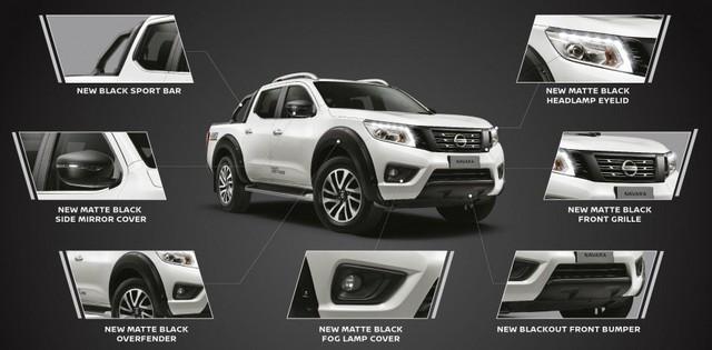 Nissan Navara thay đổi nhẹ với phiên bản đặc biệt Black Series - Ảnh 3.