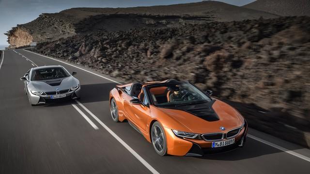 BMW i8 Roadster chính thức trình làng, bổ sung thêm sức mạnh - Ảnh 3.