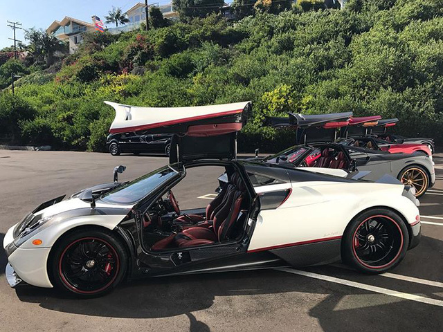 Dàn siêu phẩm Pagani tụ tập tham dự tuần lễ xe Monterey 2017 - Ảnh 2.