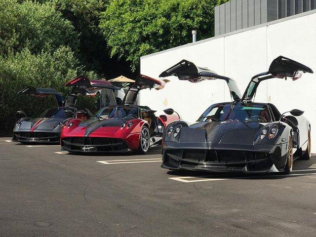 Dàn siêu phẩm Pagani tụ tập tham dự tuần lễ xe Monterey 2017 - Ảnh 5.