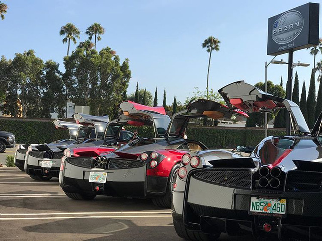 Dàn siêu phẩm Pagani tụ tập tham dự tuần lễ xe Monterey 2017 - Ảnh 3.