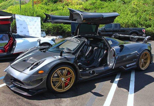 Dàn siêu phẩm Pagani tụ tập tham dự tuần lễ xe Monterey 2017 - Ảnh 9.