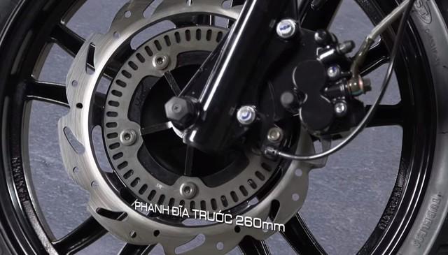 Cạnh tranh Honda Lead, SYM Fancy 125 có phanh chống bó cứng hai kênh - Ảnh 1.
