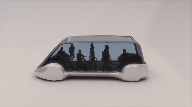 """""""Xe buýt"""" đi dưới lòng đất của Elon Musk lộ hình ảnh concept đầu tiên"""