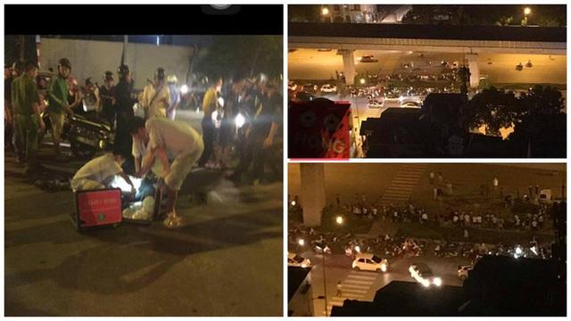 Hà Nội: Người đàn ông đi xe SH ngã ra đường tử vong trong đêm - Ảnh 2.