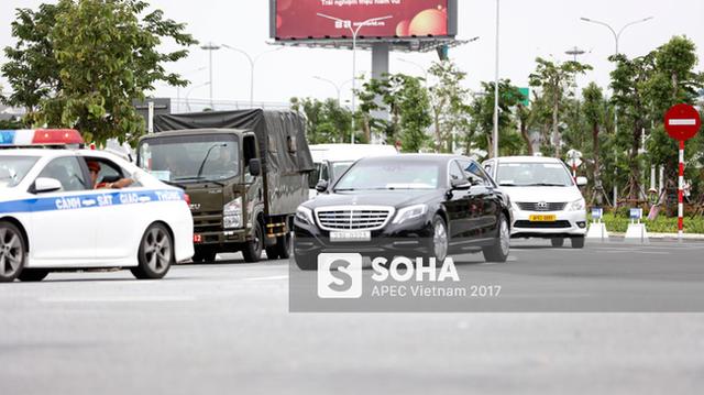 Loạt xe khủng theo chân các Nguyên thủ quốc gia dự APEC tại Đà Nẵng - Ảnh 5.