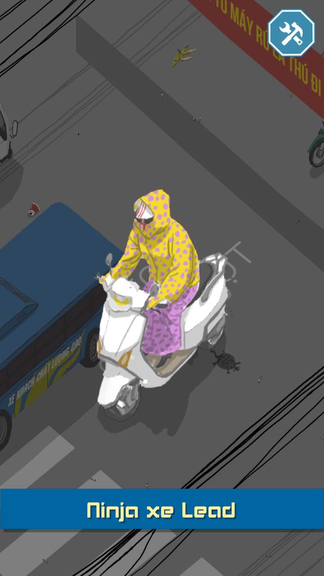 Chơi ngay tựa game Việt cho bạn làm ninja đi xe Lead vượt chướng ngại vật - Ảnh 4.