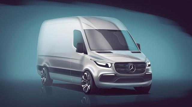 Mercedes-Benz Sprinter 2018 - xe van hiện đại nhất thế giới