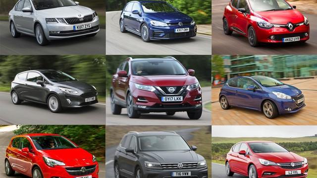 10 mẫu xe bán chạy nhất châu Âu trong năm 2017: Không có Toyota