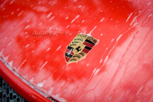 Cận cảnh siêu xe Porsche 911 GT3 RS mà Cường Đô-la mới tậu - Ảnh 12.