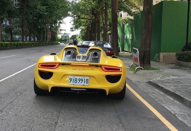 Hàng hiếm Porsche 918 Spyder của đại gia Nhật Bản sở hữu biển khủng - Ảnh 2.