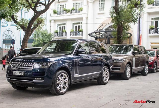 9 xe sang Range Rover tập kết ở Hà Nội - Ảnh 2.