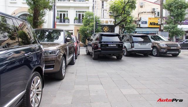 9 xe sang Range Rover tập kết ở Hà Nội - Ảnh 11.