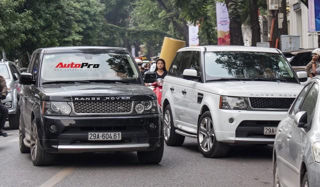 9 xe sang Range Rover tập kết ở Hà Nội - Ảnh 4.