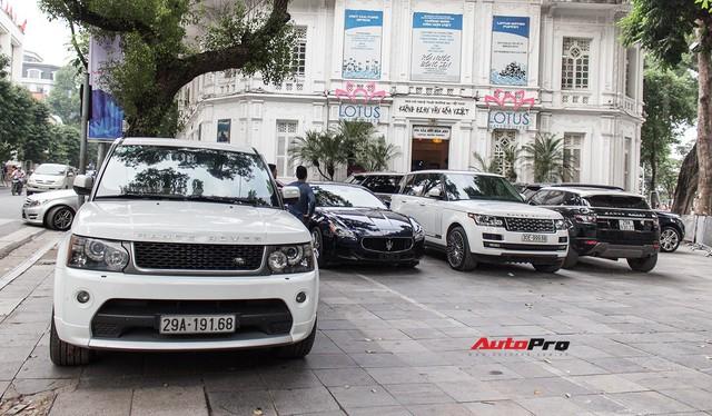 9 xe sang Range Rover tập kết ở Hà Nội - Ảnh 5.
