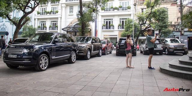 9 xe sang Range Rover tập kết ở Hà Nội - Ảnh 6.