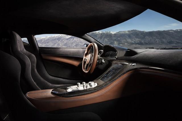 Siêu xe điện tiếp theo của Rimac thách thức tốc độ Tesla Roadster - Ảnh 5.