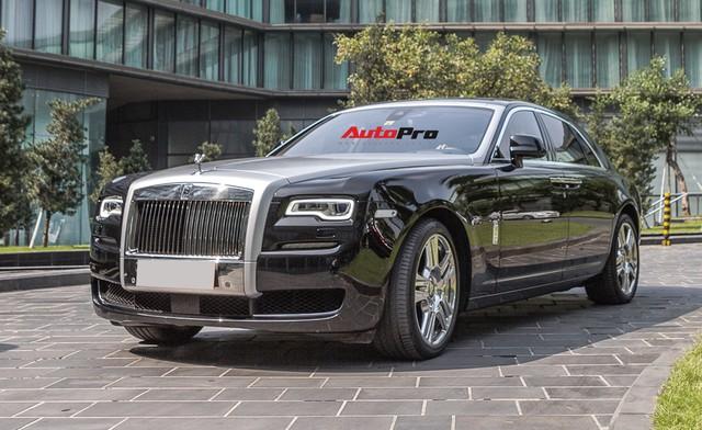 Rolls-Royce Ghost Series II đã qua sử dụng rao bán giá 25 tỷ đồng tại Hà Nội - Ảnh 1.