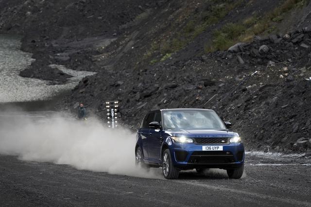 Range Rover Sport SVR - SUV mạnh nhất của nhà Land Rover - Ảnh 3.