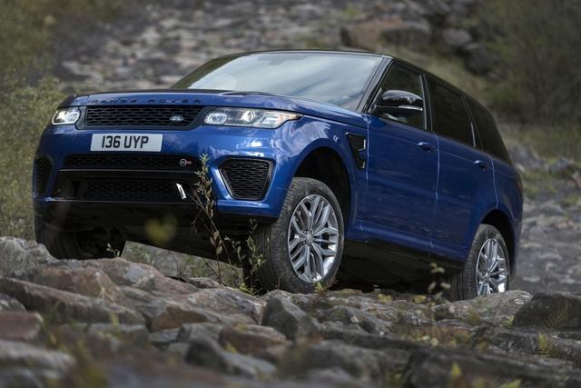 Range Rover Sport SVR - SUV mạnh nhất của nhà Land Rover - Ảnh 2.