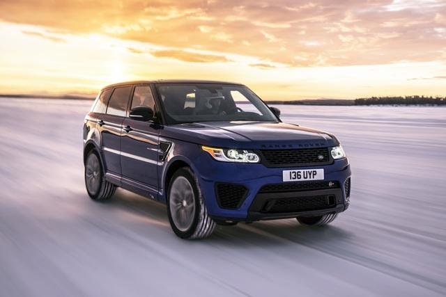 Range Rover Sport SVR - SUV mạnh nhất của nhà Land Rover - Ảnh 1.