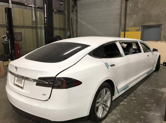 Tesla Model S độ limousine độc nhất thế giới, giá ngang BMW 6-Series - Ảnh 2.