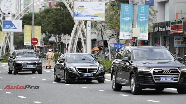 Loạt xe khủng theo chân các Nguyên thủ quốc gia dự APEC tại Đà Nẵng - Ảnh 6.