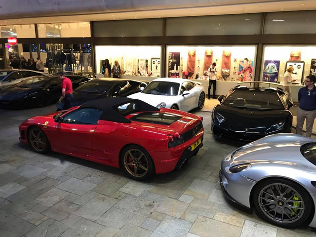 Rừng siêu xe đình đám tụ tập tại Monaco - Ảnh 3.