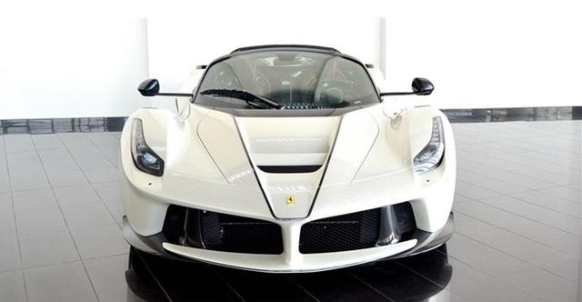 Dù đã cháy hàng nhưng Ferrari LaFerrari mui trần vẫn được các đại lý chào bán - Ảnh 3.