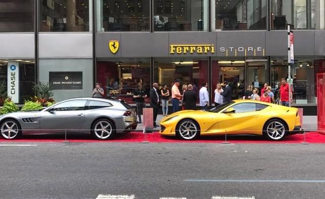 Nhân sự kiện 70 năm thành lập hãng Ferrari, hàng loạt siêu ngựa đã hội tụ tại kinh đô thời trang thế giới - Ảnh 5.