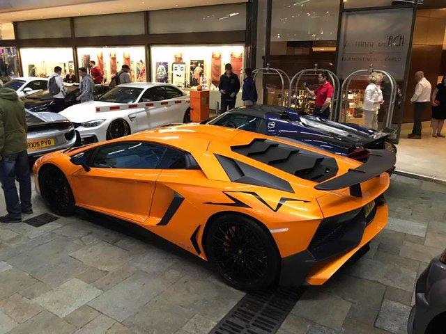 Rừng siêu xe đình đám tụ tập tại Monaco - Ảnh 2.