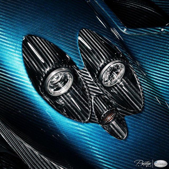 Cận cảnh 1 trong 3 chiếc Pagani Zonda HP Barchetta được sản xuất trên toàn thế giới - Ảnh 3.