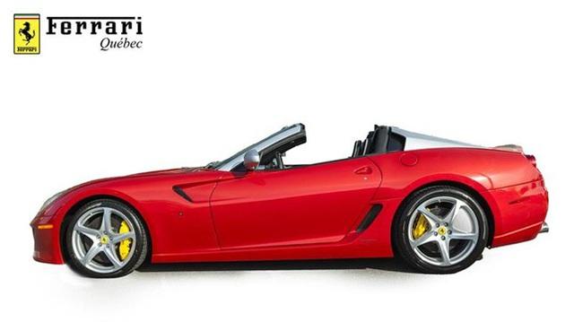 Đây là 1 trong 80 chiếc Ferrari 599 SA Aperta có giá bán gần chạm ngưỡng mức 2 triệu đô