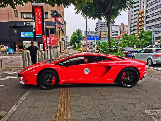 Xem dàn siêu xe Lamborghini khủng của các tay chơi Nhật tụ tập - Ảnh 5.