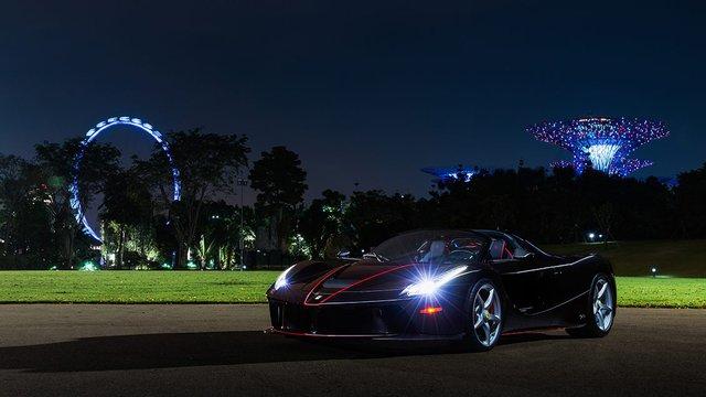 157 chiếc Ferrari diễu hành trên các con phố tại Singapore gây nên cảnh tắc đường - Ảnh 11.